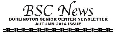 BSC News Autumn 2014 Newsletter