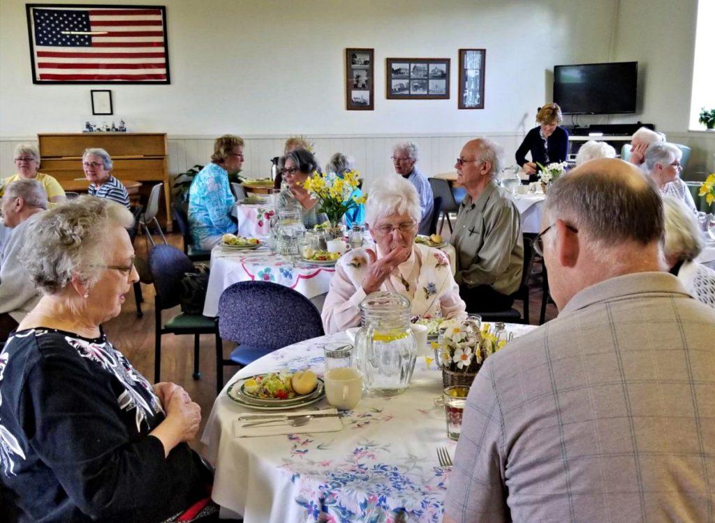 Supper Club Dinner at Burlington Senior Activity Center