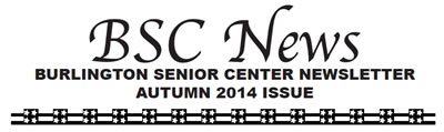 BSC News Autumn 2014 Newsletter